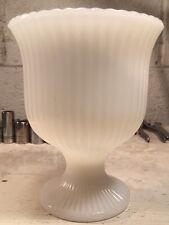 Vintage E. O. Brody Co. M3000 Milk Glass Flower Vase! Very Nice!