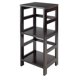 Winsome Leo model name Shelving, Tall, Espresso (Home and Kitchen Bookcases) NEW