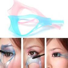 3-In-1 Eyelash Comb Template Applicator Tool Mascara Shield Make Up Brush