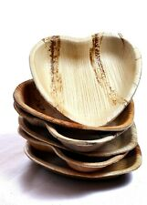 Heart Palm Leaf  Biodegradable, Compostable AKA Bamboo Plates