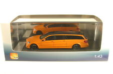 MERCEDES E CLASS S212 BINZ ESTATE LIMOUSINE 2012 ORANGE BLACK GLM 230601 1/43