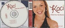 Kaci I think I love you (Remixes, 7 tracks, 2002) [Maxi-CD]