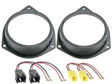 Anillos de altavoces 120mm+Adaptador de cable para Peugeot Bipper Altavoz
