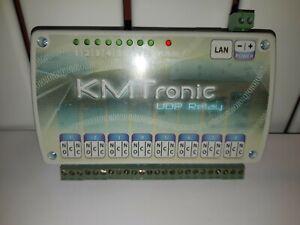 KMTronic LAN Ethernet IP 8 Channels UDP Relay Board Box
