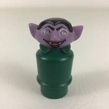 The Count Figure Fisher Price Little People Sesame Street Clubhouse Vintage 1976
