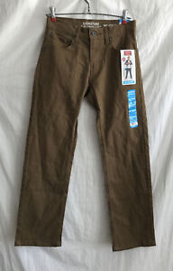 NWT Levi Strauss Signature S67 Boys 12R Brown Jeans