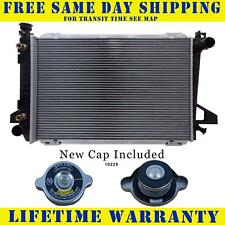 Radiator With Cap For Ford Fits Bronco F-150 F-250 F-350 5.0 5.8 V8 8Cyl 1453WC