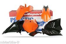 Kit Plastiques Polisport  KTM SX65 2009-2011 09-11 Couleur Origine  Noir Orange