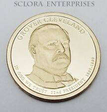 2012 S Grover Cleveland 1st Term Presidential  *PROOF* Dollar *FREE SHIP*