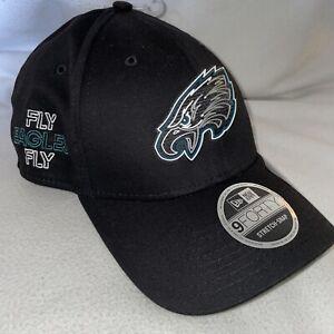 Philadelphia Eagles New Era 9Forty FLY EAGLES FLY Snapback Cap 2020 Draft Hat