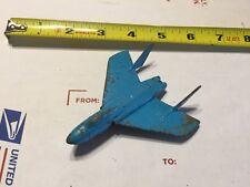 Vintage Rockford Illinois midgetoy metal Navy plane (jet)