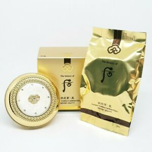 The History of Whoo Gongjinhyang Mi Luxury Golden Cushion Glow SPF50+ PA+++
