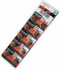 10 Maxell LR 44 LR44 ag-13 a-76 Watch 1.5V Battery Fast Shipping