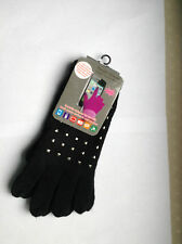 LADIES FASHION TEXTING TOUCH SCREEN GLOVES FOR  SMART PHONE, IPAD* BLACK