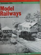 Model Railway Constructor 12 1958