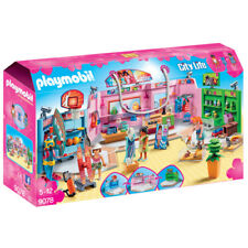 Playmobil City Life Shopping Plaza 9078 Nuevo