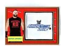 WWE Kevin Owens 2017 Topps Heritage Bronze SD Patch Relic Card SN 98 of 99