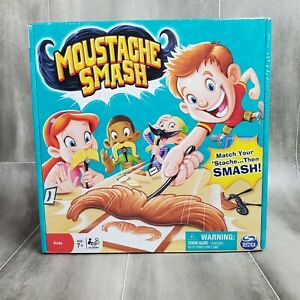 Moustache Smash Board Game by Spin Master FAST SHIPPING
