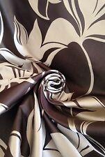 16 Metres Prestigious Trailing Leaves Design Jacquard Brocade Curtain Fabric
