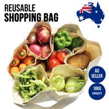 Bag Tote Shopping Cotton Canvas Shoulder Bags Heavy Duty Reusable Large Plain