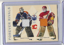 04-05 ITG Franchises Forever Rivals Grant Fuhr Mike Vernon dual jersey