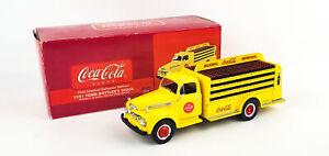 Coca-Cola 1951 Ford Bottler's Truck 1:34 Diecast Vehicle w/ Original Box