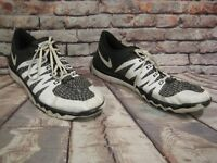 NIKE FREE TRAINER 5.0 V6 AMP MEN'S SHOE'S sz 16 WHITE-BLACK