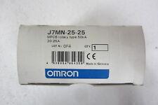 OMRON J7MN-25-25 INTERRUTTORE AUTOMATICO PROTEZIONE MOTORE (SALVAMOTORE) 20-25 A