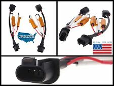 2x H13 9008 HID Conversion Kit Load Resistor Wiring Harness Adapter DODGE RAM V8
