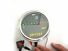 LED Digital Speedometer and Tachometer Assembly for Harley Davidson by V-Twin