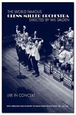 "Glenn Miller Orchestra ""Live in Concert"" DVD NUOVO"