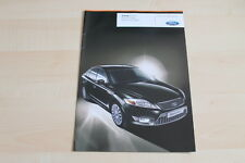 79297) Ford Mondeo Black Magic Prospekt 09/2009