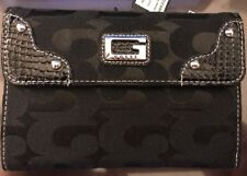 New w/ Tags GUESS Coal/Black Wallet Credit card