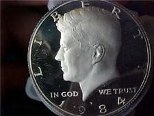 1984-s PROOF KENNEDY HALF DOLLAR Roll 20 Coins
