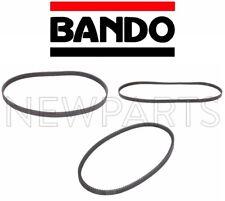 For Pathfinder 96-00 3.3L V6 Bando OEM 3-Belt Set AC-PWR-ALT-6PK10655PK12854350B