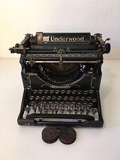 Vintage Underwood Standard No5 Typewriter