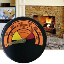 Stove Pipe Thermometer Temperature For Log Wood Burner Fireplace Accessories