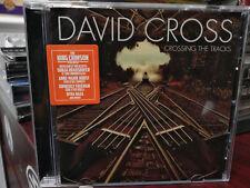 DAVID CROSS Crossing the Tracks (King Crimson Violin/Keyboards)CD Haza Hurst Eva