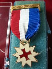 Catholic Girl Scout Medal GOD & COMMUNITY, MINT in BOX GIFT Collector RARE PIN