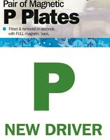 Streetwize Pair of Fully Magnetic Car Vehicle Just Passed New Driver P Plates