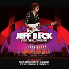 JEFF BECK LIVE AT THE HOLLYWOOD BOWL 2 BLU-RAY ALL REGIONS & 2 CD DIGIPAK NEW