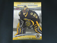 2015-16 UD Contours ROOKIE Resume #36 Malcolm Subban Boston Bruins / 399