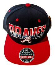 Vintage Atlanta Braves American Needle Snapback Hat