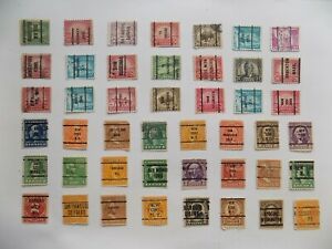 U S   Collection of all used PRECANCEL DEFINITIVES -7-26-F-We combine shipping