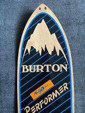 Burton Performer Competition P-TEX Ptex 1984 Snowboard - VERY RARE - Vintage