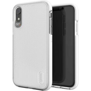 GEAR4 White Battersea Case Cover for iPhone XR, Advanced Impact Protection D3O