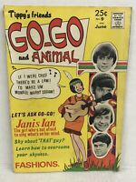 TIPPY'S FRIENDS GO-GO AND ANIMAL #9 Monkees Cover 1968-TOWER-FASHION PAGES-