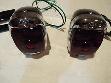 1940-41-1947-1949-1949-1950-1951-1952-1953 Chevy GMC Truck New Black Taillights