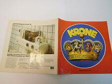 MES-50423Älteres Heft Circus Krone 1981 mit Gebrauchsspuren