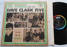 THE DAVE CLARK FIVE On stage with.. VG+ CANADA ORIG 1964 CAPITOL MONO T 6083 LP